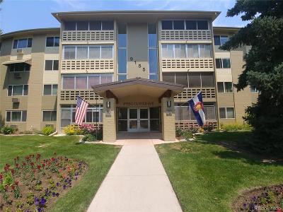 Denver Condo/Townhouse Active: 9155 East Center Avenue #11A