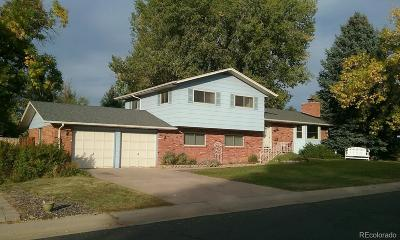 Northglenn Single Family Home Active: 1281 Kennedy Drive