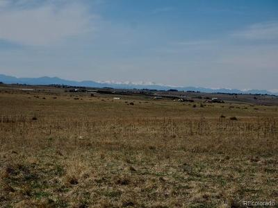 Parker CO Residential Lots & Land Active: $360,000