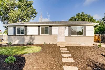 Denver Single Family Home Active: 5557 Dillon Street