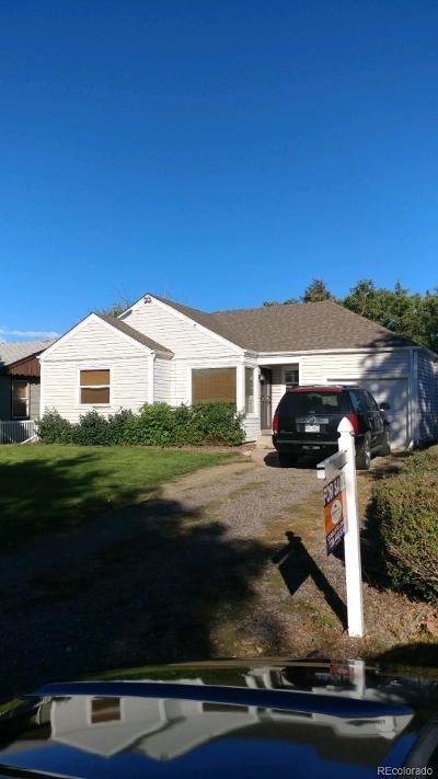 Aurora Single Family Home Active: 1216 Lansing Street