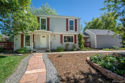 Louisville Single Family Home Active: 549 Buckthorn Way