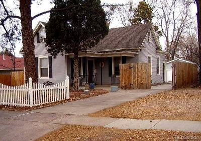 Colorado Springs Single Family Home Active: 1206 East Uintah Street