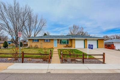 Arvada Single Family Home Active: 5900 Field Street