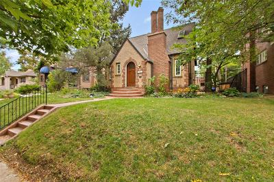 Denver Single Family Home Active: 2050 Glencoe Street