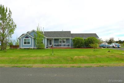 Strasburg Single Family Home Active: 52840 East 16th Avenue