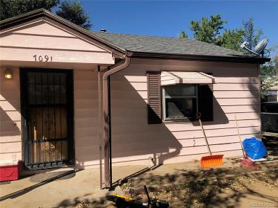 Commerce City Single Family Home Under Contract: 7091 Olive Street