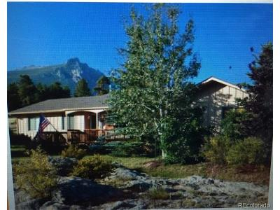 Estes Park Single Family Home Active: 309 Whispering Pines Drive