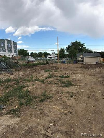 Denver Residential Lots & Land Active: 1264 Perry Street