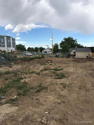 Denver CO Residential Lots & Land Active: $550,000