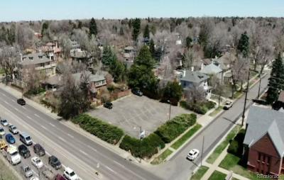 Denver Residential Lots & Land Active: 4005 East 18th Avenue