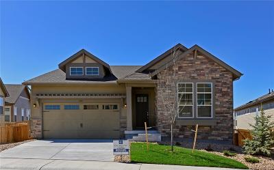 Castle Rock Single Family Home Under Contract: 3315 Fitch Street