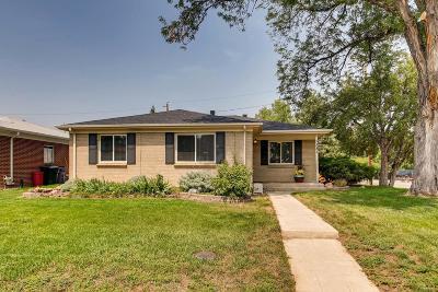 Denver CO Single Family Home Active: $530,000