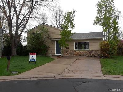 Westminster Single Family Home Active: 10726 Lewis Court