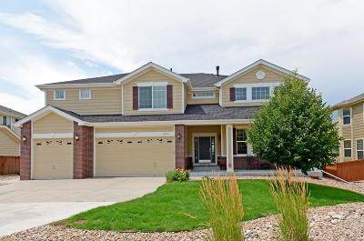 Castle Rock Single Family Home Under Contract: 6557 Marble Lane