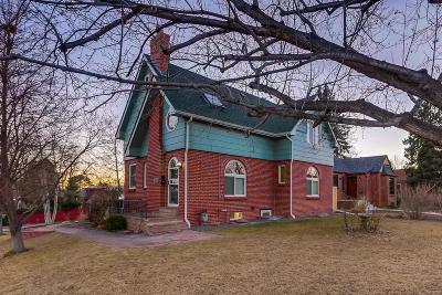 Denver CO Single Family Home Under Contract: $720,000