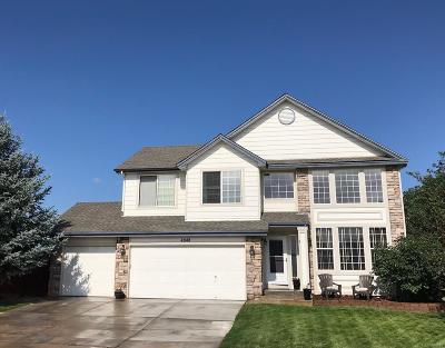 Castle Rock Single Family Home Under Contract: 4848 Bobolink Court