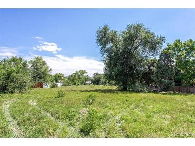 Lakewood CO Residential Lots & Land Active: $850,000