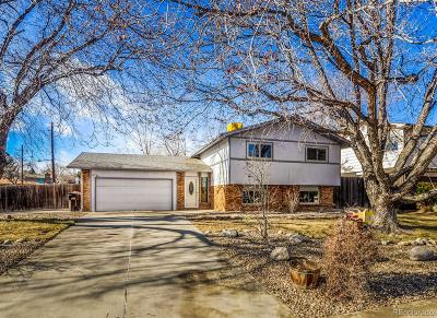 Broomfield Single Family Home Under Contract: 1201 Dexter Street