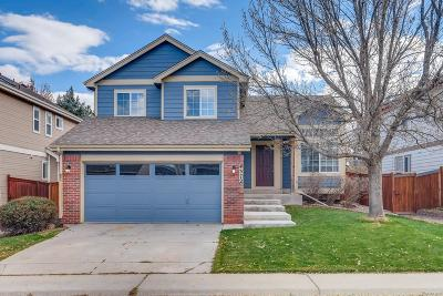 Castle Rock Single Family Home Under Contract: 4372 West Mountain Vista Lane