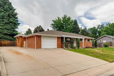 Arvada Single Family Home Active: 6506 Teller Street