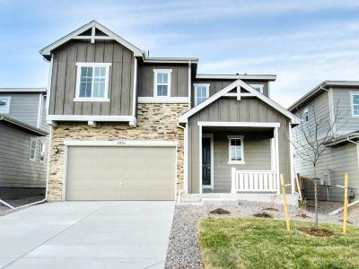 Castle Rock Single Family Home Under Contract: 1031 White Leaf Circle