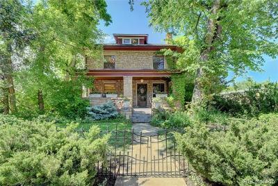 Boulder Single Family Home Active: 655 Arapahoe Avenue