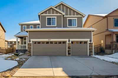 Castle Rock Single Family Home Under Contract: 7471 Grady Circle