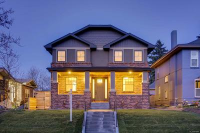 Denver Single Family Home Active: 2320 Fairfax Street