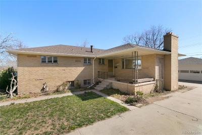 Wheat Ridge Single Family Home Active: 4520 Teller Street