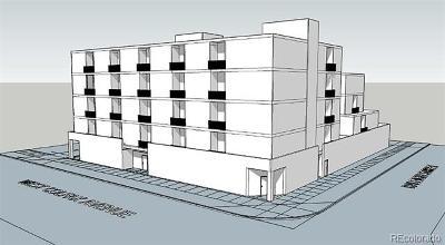 Denver Residential Lots & Land Active: 4190 West Colfax Avenue