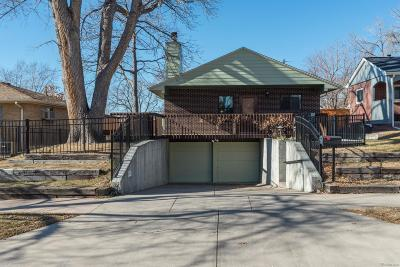 Denver Single Family Home Active: 1427 South Lafayette Street