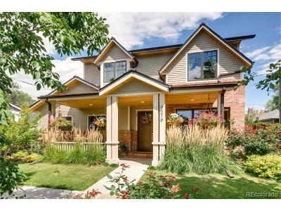 Denver Single Family Home Active: 4219 West 39th Avenue