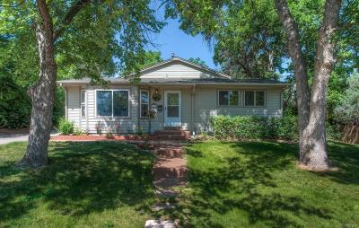 Littleton Single Family Home Active: 6621 South Cedar Street