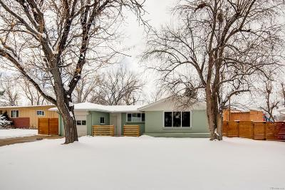 Littleton Single Family Home Under Contract: 5911 South Crestview Street