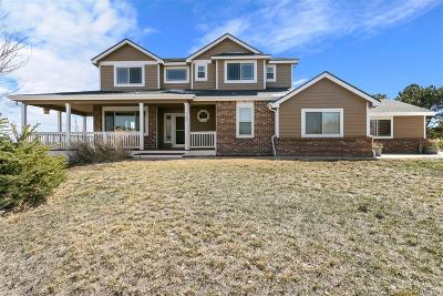 Parker CO Single Family Home Under Contract: $510,000