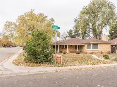 Denver Single Family Home Active: 1203 Jasmine Street