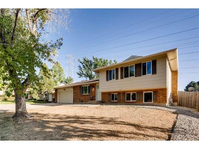 Aurora Single Family Home Active: 16810 East Bails Place
