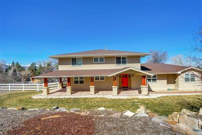 Boulder Single Family Home Active: 7509 Spring Drive