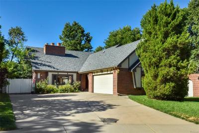 Wheat Ridge Single Family Home Under Contract: 3611 Vivian Court