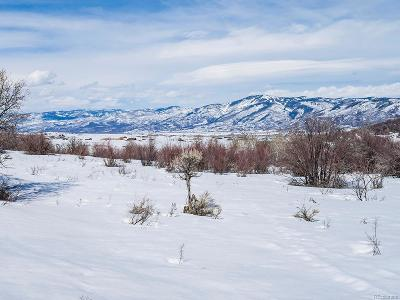 Oak Creek, Phippsburg, Yampa, Toponas Residential Lots & Land Active: 28750 County Road 14 Road