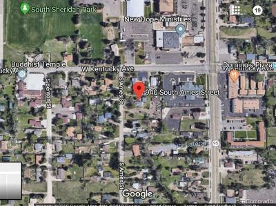 Residential Lots & Land Under Contract: 940 South Ames Street