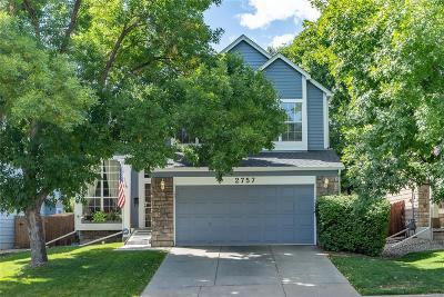 Denver Single Family Home Active: 2757 Utica Street