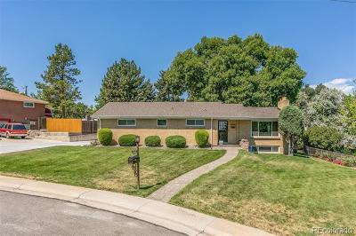 Wheat Ridge Single Family Home Active: 3595 Moore Street