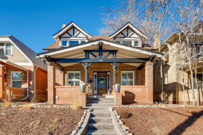 Denver Single Family Home Under Contract: 1461 Cook Street