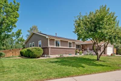 Littleton Single Family Home Active: 8185 West Fremont Drive