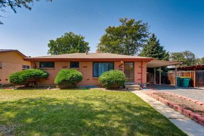 Aurora CO Single Family Home Active: $295,000