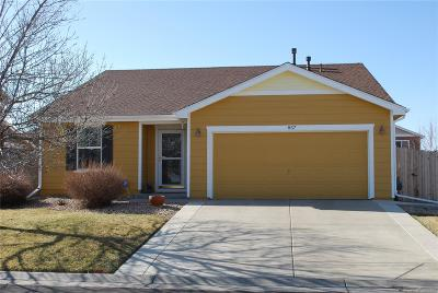 Lochbuie Single Family Home Under Contract: 857 Stagecoach Drive