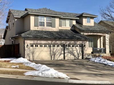 Littleton Single Family Home Active: 5776 South Newland Street