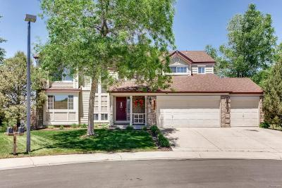 Castle Rock Single Family Home Under Contract: 4591 Ridgewood Court